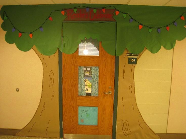 Classroom Door Tree Decoration : Best bulletin board ideas images on pinterest