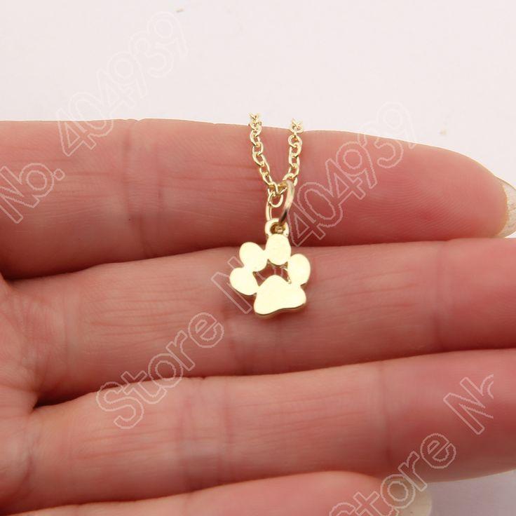 1pcs Tassut Cat Dog Paw Print Necklace Animal Silver Gold Choker Necklace Women Pendant Long Cute Delicate Statement Necklace♦️ B E S T Online Marketplace - SaleVenue ♦️👉🏿 http://www.salevenue.co.uk/products/1pcs-tassut-cat-dog-paw-print-necklace-animal-silver-gold-choker-necklace-women-pendant-long-cute-delicate-statement-necklace/ US $2.50