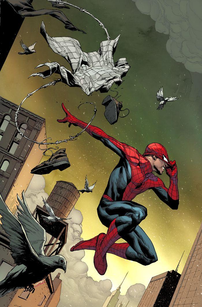 Spider-Man by Jerome Opeña & Marte Gracia Pazuzu