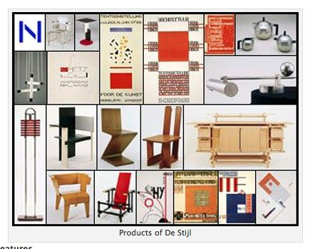 de stijl furniture