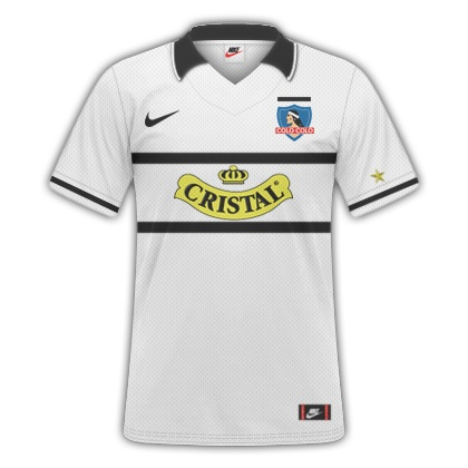 Camiseta Retro - Colo Colo 96'