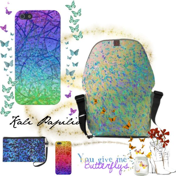"""""""Informel and Grunge Art Abstract"""" by medusa81 on Polyvore"""
