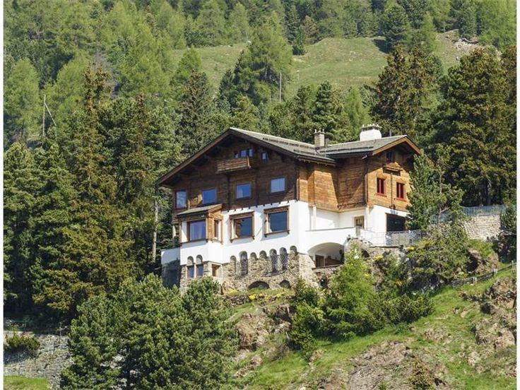Chalet Sul Spelm St Moritz Switzerland Wust Wust
