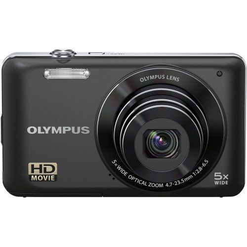 "Olympus  VG-120 14 MP Digital Camera , 5X Wide-Angle Optical Zoom (26mm), 3"" LCD, (Black) by Olympus. $99.95. 14 Megapixels, 5x Optical Zoom, 3.0 LCD, 720P HD Movie, Magic Filters, Intelligent Auto. Save 47%!"