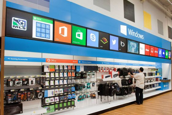 Microsoft and Best Buy announce the Windows Store at Best Buy