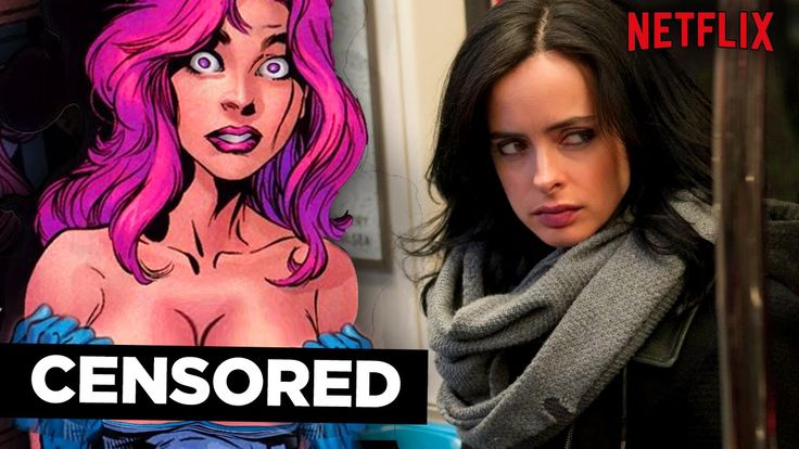 JESSICA JONES Too X-RATED for Netflix? (Who is Jessica Jones?)