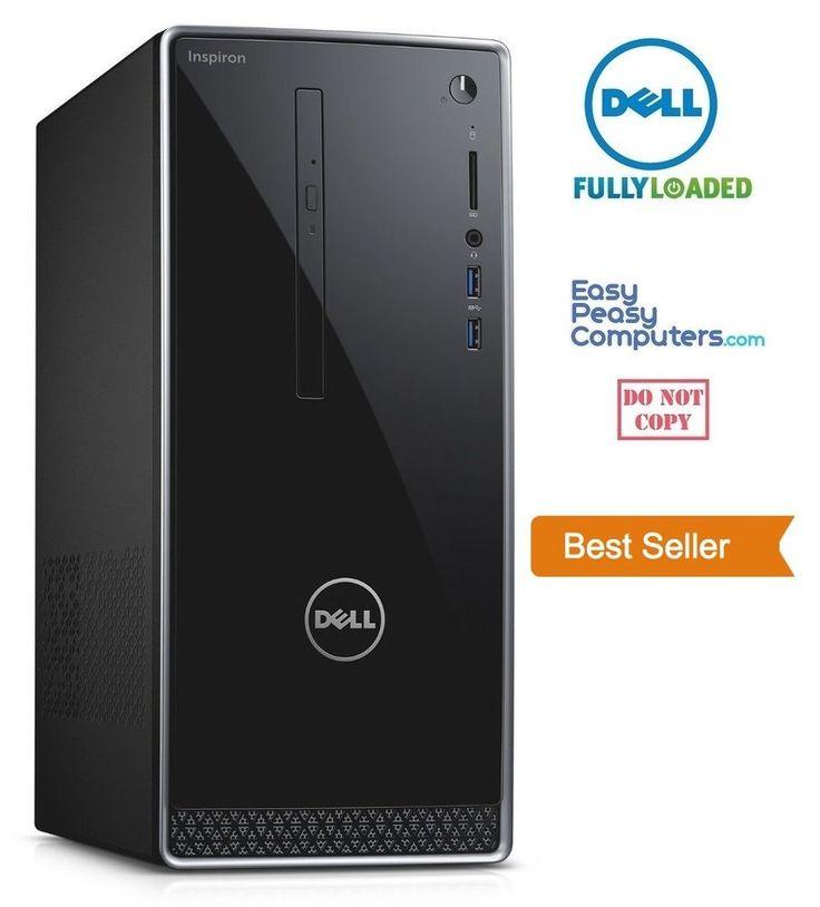 Computers for Sale - NEW DELL Desktop Computer Windows 10 DVD+RW 1TB 6GB HDMI WiFi (FULLY LOADED) #Dell