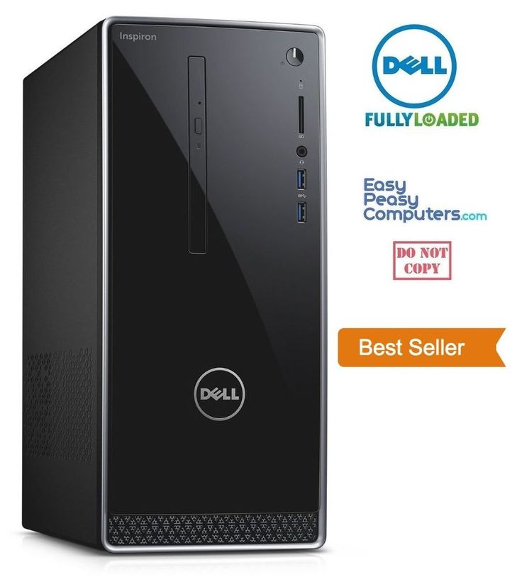 computer deals - NEW DELL Desktop Computer Windows 10 DVD+RW 1TB 6GB HDMI WiFi (FULLY LOADED) #Dell