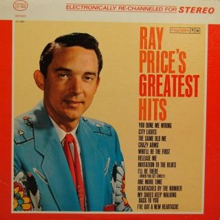 1961 - Ray Price - Ray Price's Greatest Hits