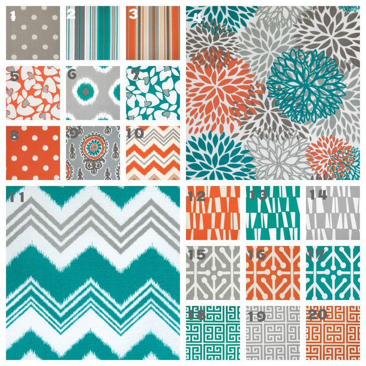 1000 Ideas About Grey Orange Bedroom On Pinterest: 1000+ Ideas About Orange And Turquoise On Pinterest