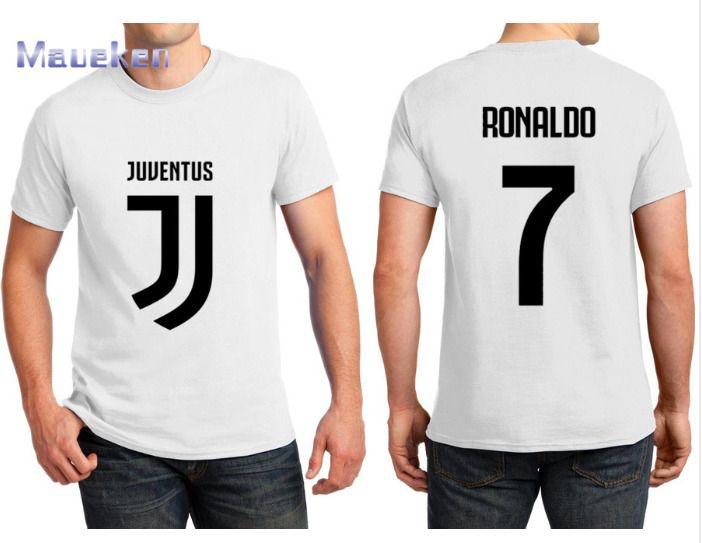 on sale 68f86 3835e New Juventus Name Cristiano Ronaldo No.7 2018 - 2019 T-Shirt ...