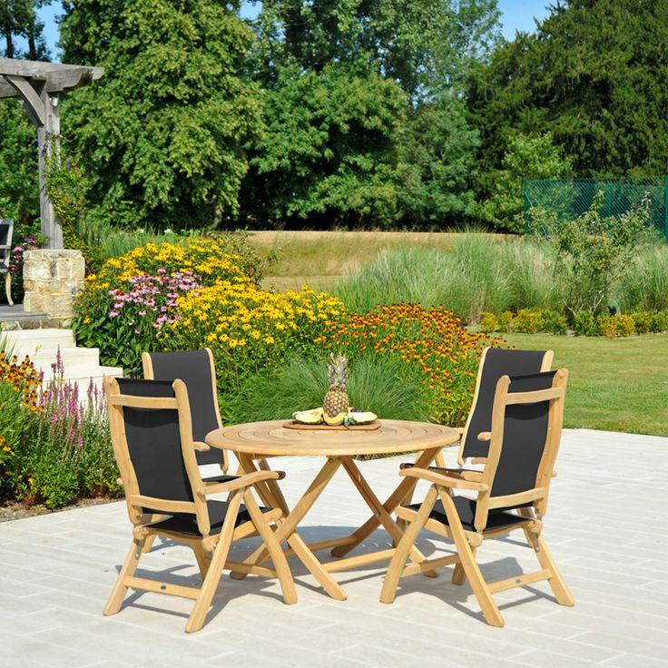 Alexander Rose Roble 4 Seater Set - Dobbies Garden Centres ...