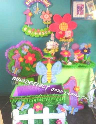 Pi ata chupetero cotillones bienvenido flores y mariposas - Decoracion con mariposas ...
