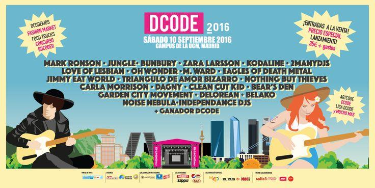 Cartel Dcode 2016