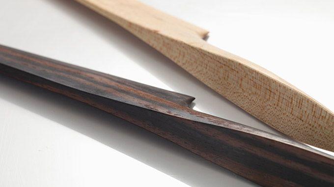 ミニマルでユニバーサル  刃と取手の間に継ぎ目がなく、衛生的で美しいカタチです
