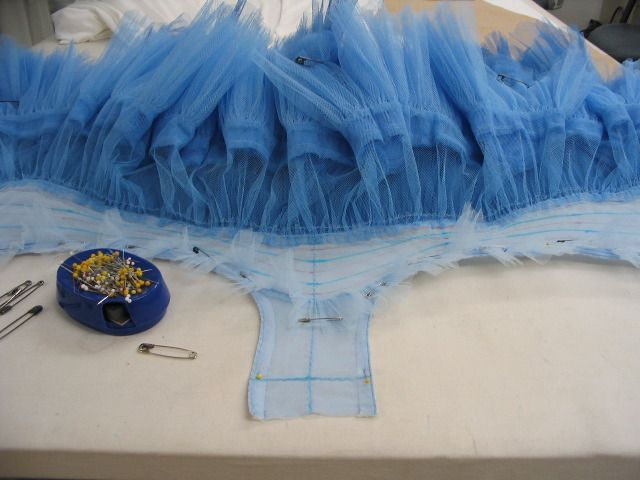 tutu tutorial Oregon Ballet Theatre: News from the Costume Shop...in case I ever have to make one