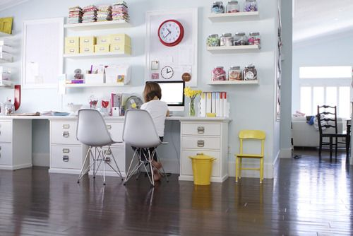 Office: Crafts Area, Crafts Rooms, Crafts Spaces, Offices Spaces, Home Office, Homework Area, Work Spaces, Kids Office, Spaces Crafts