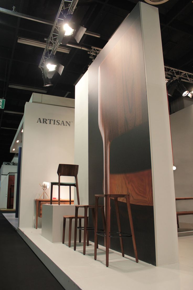 Artisan stand at imm Cologne 2016 designed by Regular Company