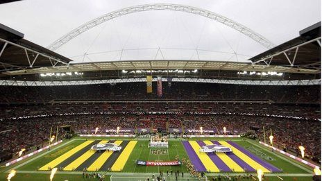 NFL to stage three games at London, Wembley in 2014 #nflinternational