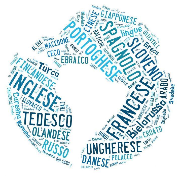 Le nostre lingue di lavoro!