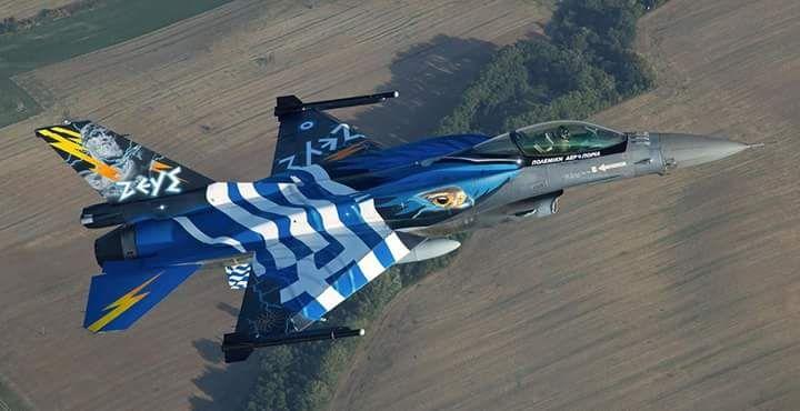 "F-16 HAF's ""ZEUS"" Dem Team."