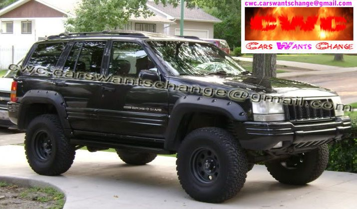 Jeep Grand Cherokee Zj 1992 1998 Fender Flares Wheel Arch Extensions Vehicle Parts Accessories Car Tuning Styling Body Exterior Styling Ebay
