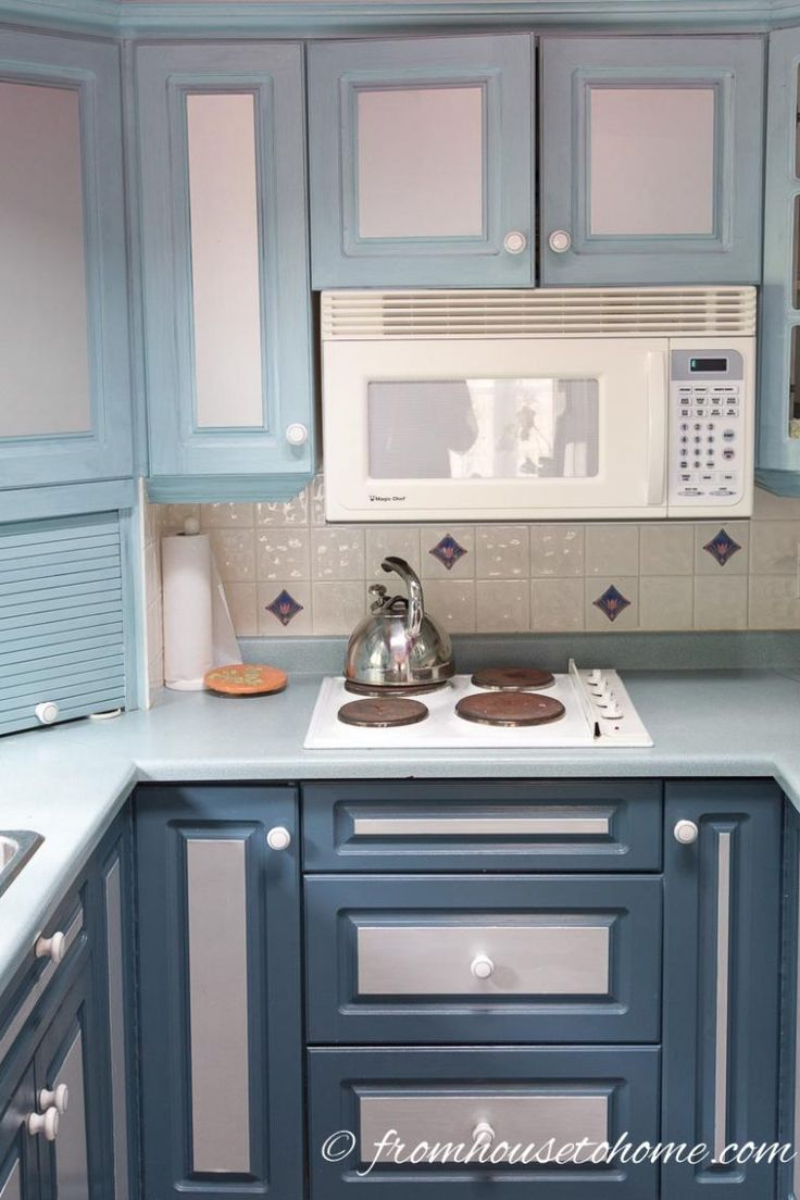 How to Paint Melamine Kitchen Cabinets | Painting cabinets ...