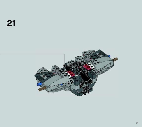 LEGO TIE Advanced Prototype Instructions 75082, Star Wars Rebels ...