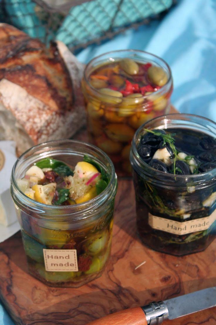 Pistachio: Oliwki marynowane. Marokańskie, sycylijskie, prowansalskie.