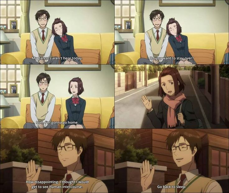Parasyte -the maxim- LOL! I love Migi xD He's so funny!
