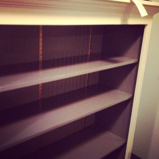 Charcoal Cream Rose Gold Bookcase for Sale | Covet Living $300