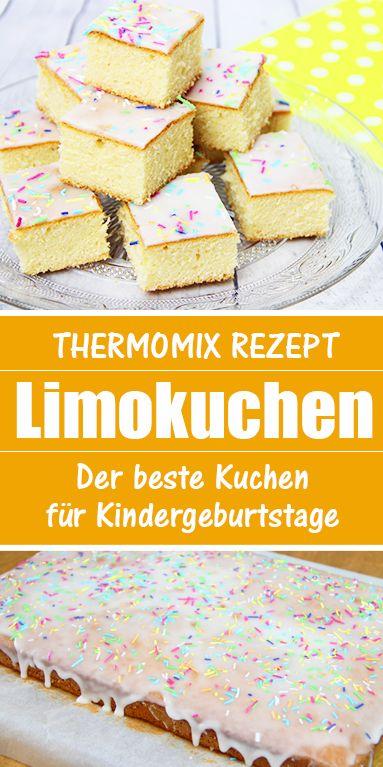 Limettenkuchen – Rezept aus dem Thermomix. Der beste Kuchen für Kindergeburtsatge.