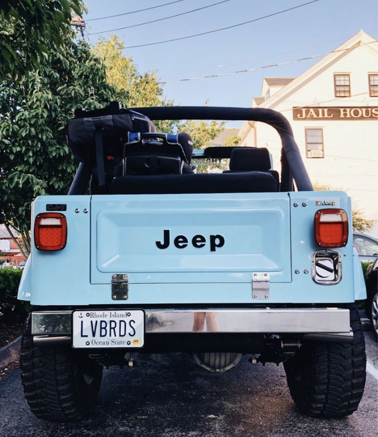 Dream Vacation Car Jeep Cars Blue Jeep Jeep