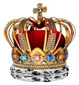 Royal crown with jewellery decoration stock photography 123rf.com