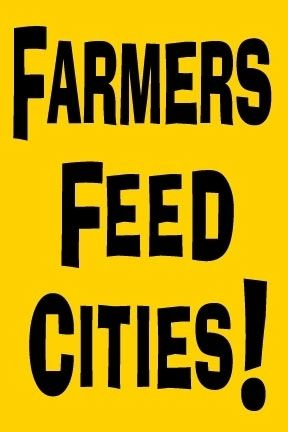 Farmers feed cities