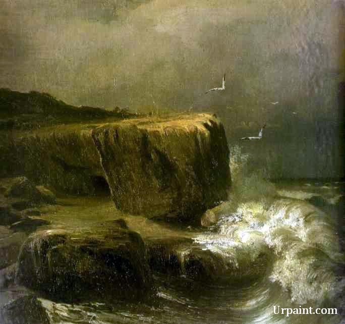 Tide near the Shore of the Crimea