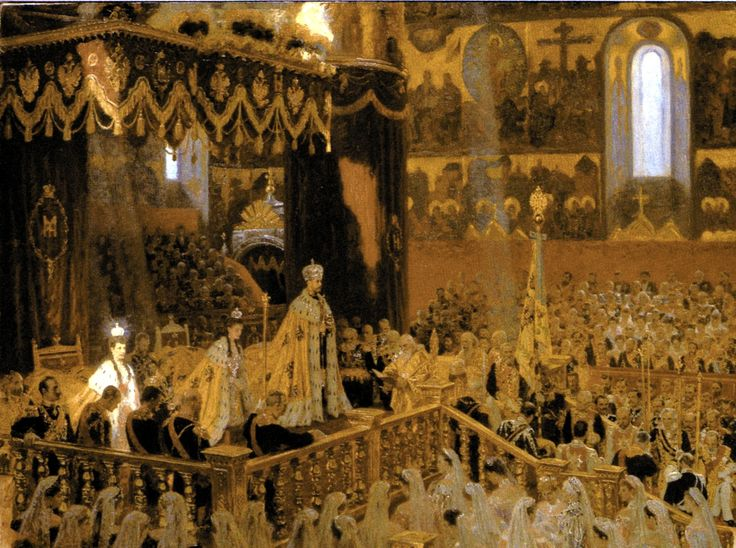 Coronation of Tsar Nicholas II & Empress Alexandra Feodorovna -1896 - Krönung der russischen Zaren und Kaiser – Wikipedia