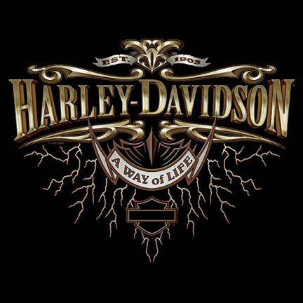 Harley Davidson Aigle Logo