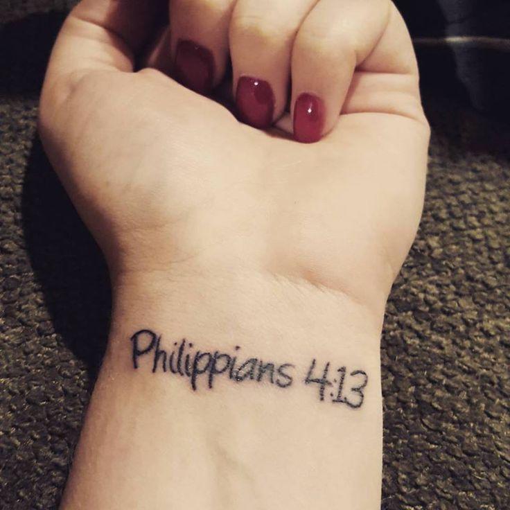 40 Philippians 4 13 Tattoo Designs For Men: 386 Best Christian Tattoos Images On Pinterest