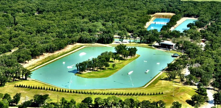 Aerial 2 BSR Cable Park, Waco, TX I almost went here last summer! Maybe next summer I'll go!