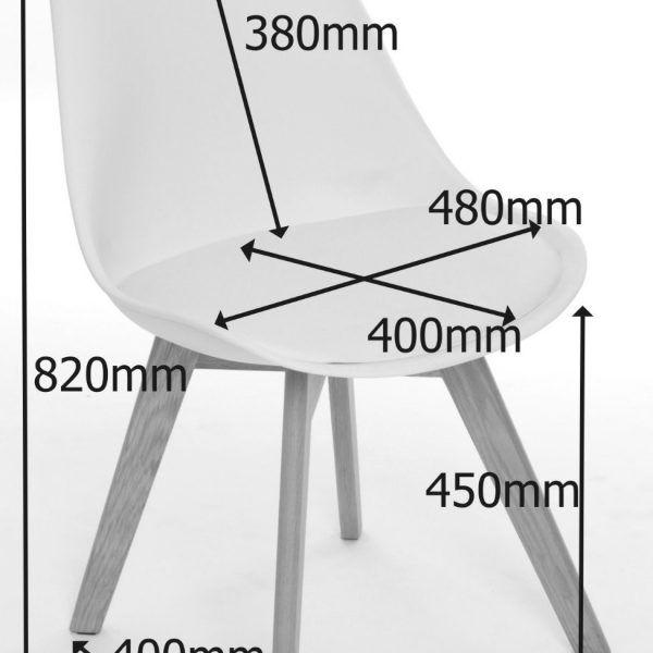 Sedia realizzata in polipropilene bianco con cuscino in ecopelle e gambe a torre in legno di faggio massiccio.  https://www.fashion-commerce.it/prodotti/sedia-in-polipropilene-bianca-tower-wood/
