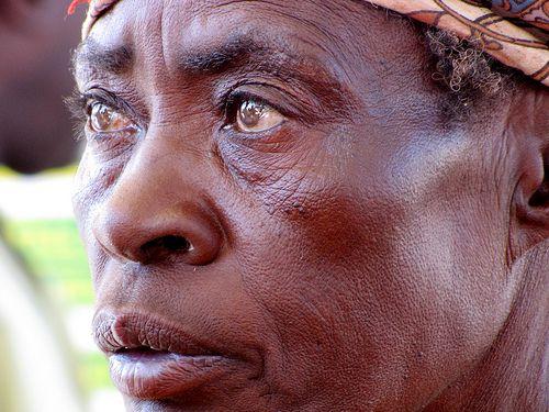 Wise woman, Herero, Namibia