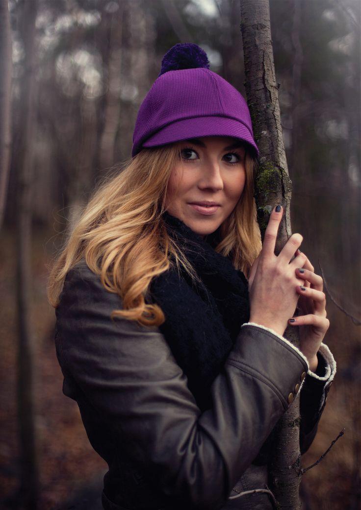 Purple Kombai Hat. Photographed by Jenni Salonen COSTO
