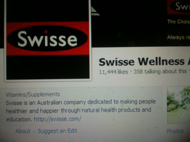 When Ellen was coming to Australia I also kept seeing numbers line up for Swisse Wellness Australia
