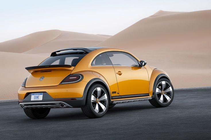 Volkswagen Beetle Dune Concept Is A 21st Century Baja Bug --- from InventorSpot.com
