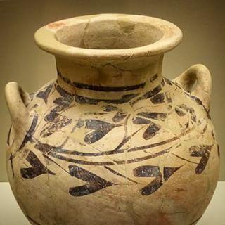 Beautiful artwork in Mycenae #art #pottery #Mycenae #Greece Photo credits: @kirkbak