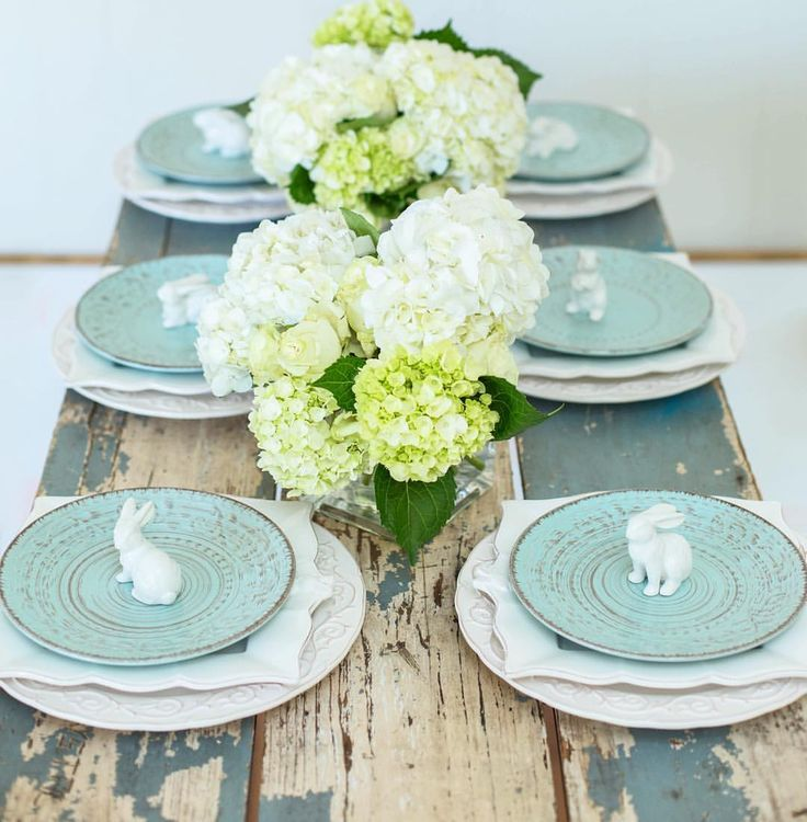 See This Instagram Photo By Smallwoodhome O 182 Likes Blue Table SettingsPlace SettingsEaster