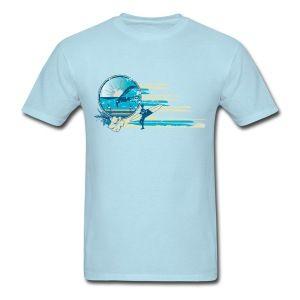 Vintage Surf Scene T-Shirts