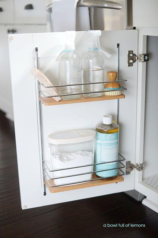 Kitchen Sink Organizer Ideas the 25+ best kitchen sink organization ideas on pinterest
