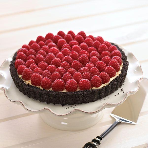 Chocolate Raspberry Tre Stelle® Mascarpone Tart